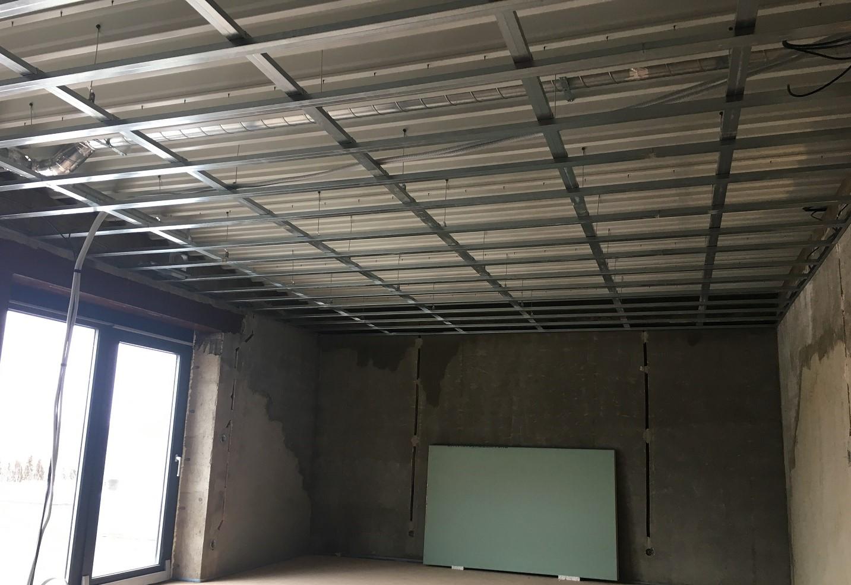 Montáže sádrokartonů na strop | SDK Pecák