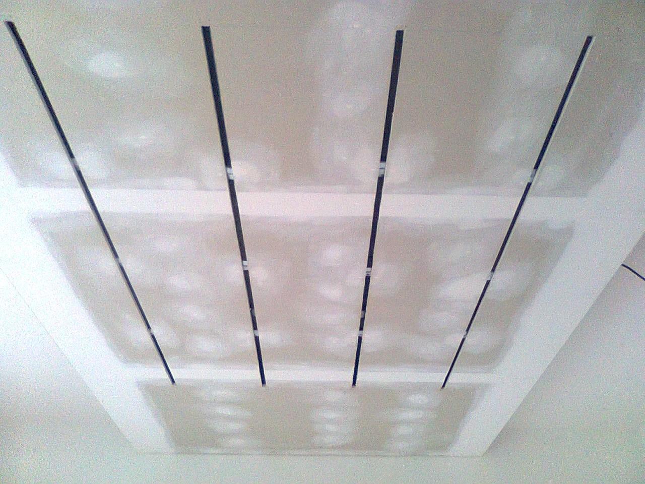 Sádrokartonová světelná rampa, sádrokartonové podhledy | SDK Pecák
